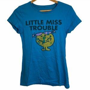🎃 BOGO Artimonde Little Miss Trouble Distressed T-Shirt M